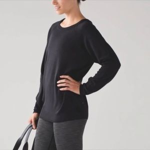 lululemon Rising Salutation Sweater sz 6